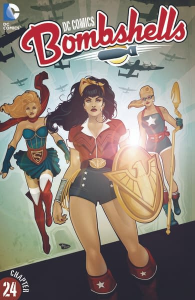 DCBombshell 24 SF Cover
