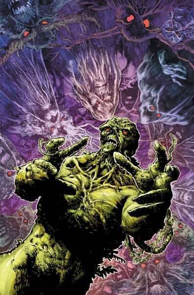 The Legend of the Swamp Thing: Halloween Spectacular #1 cover. Credit: DC Comics.