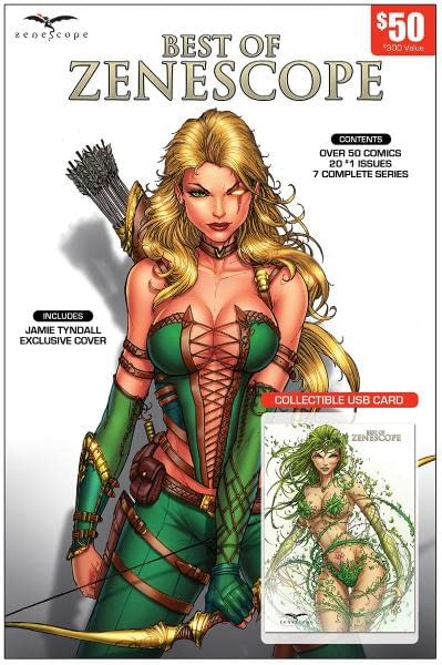 This Year's Zenescope San Diego Comic-Con Exclusive Variants Will Be Digital (Ice Cream UPDATE)