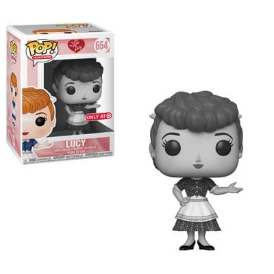 Funko I Love Lucy Black and White Lucy Target Pop