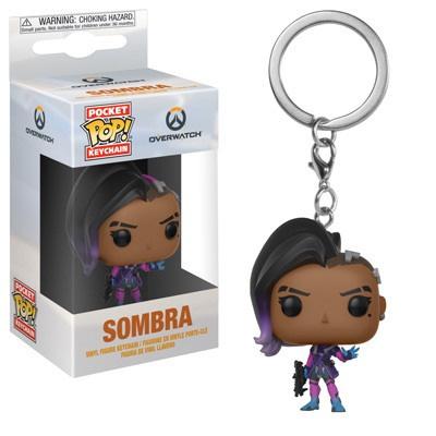 Funko Overwatch Sombra Pop Keychain