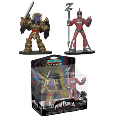 Funko Mighty Morphin Power Rangers Goldar Zed HeroWorld