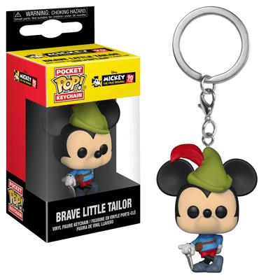 Funko Disney Mickey Mouse Pop Keychain 1