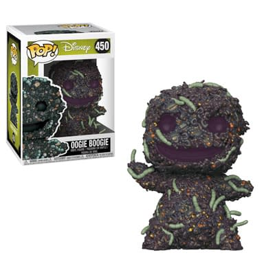 Funko Nightmare Before Christmas Oogie Boogie No Sack Pop