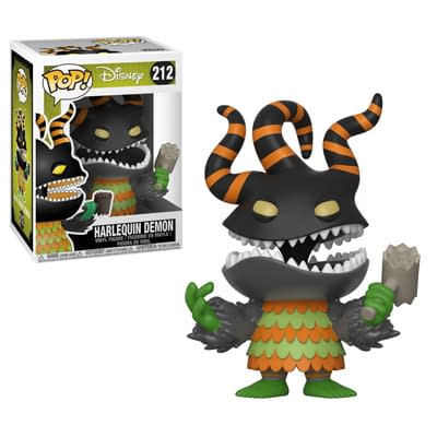 Funko Nightmare Before Christmas Pop Harlequin Demon