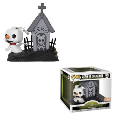 Funko Nightmare Before Christmas Zero Movie Moments 1
