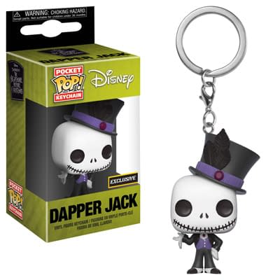 Funko Nightmare Before christmas Dapper Jack Keychain