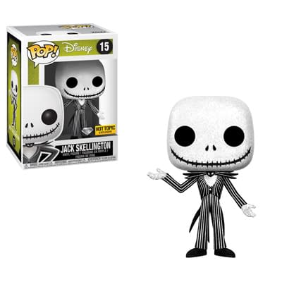 Funko Nightmare Beofre Christmas Jack Diamond Edition Pop