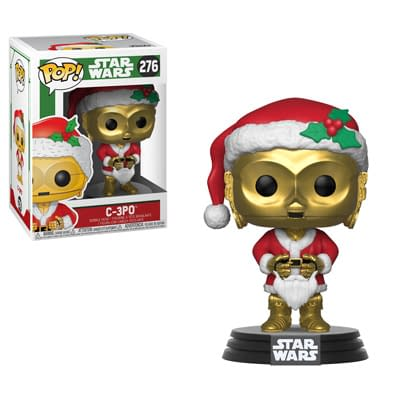 Funko Holiday Star Wars C3PO Pop