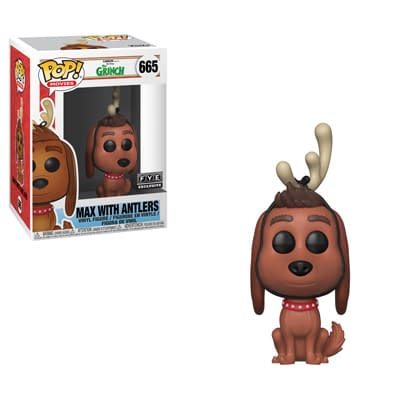 Funko The Grinch Max with Antlers FYE