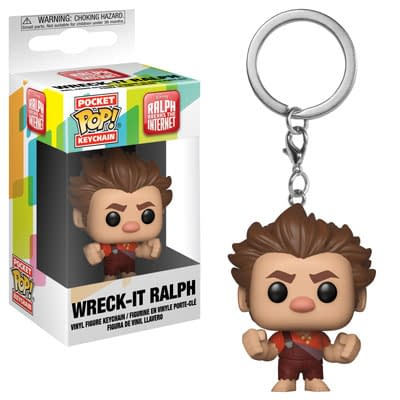 Funko Disney Wreck It Ralph Keychains 1