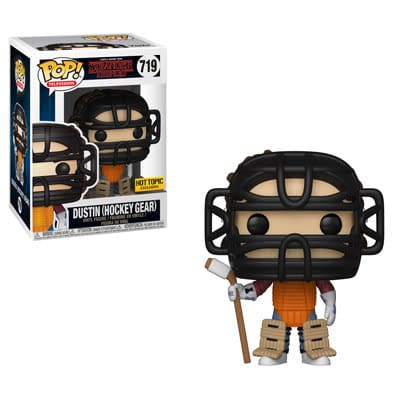 Funko Stranger Things Dustin Hockey Gear