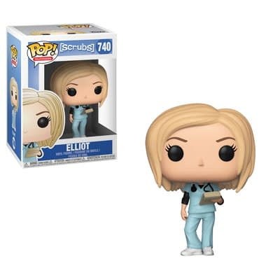 Funko Scrubs Elliot Pop