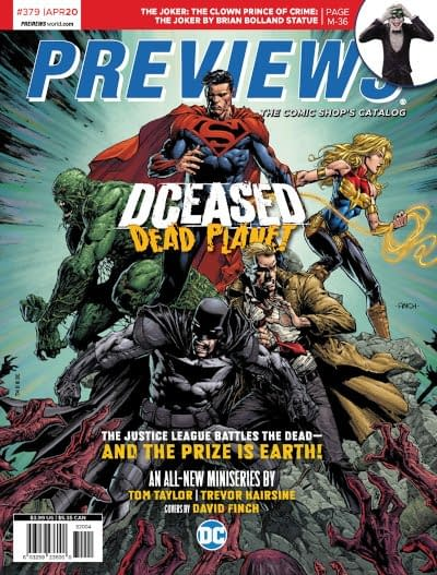 Umbrella Academy and DCeased On Covers of Next Week's Diamond Previews