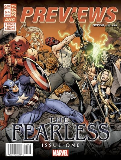 "Marvel To Announce ""The Fearless"" With Matt Fraction And Mark Bagley At San Diego Comic Con"