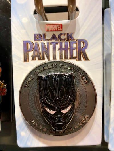 Black Panther Whitewashed in Disney World Rack Pin?