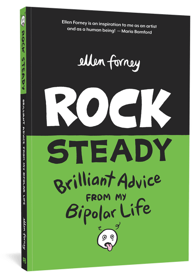 Going Steady with Ellen Forney's Rock Steady