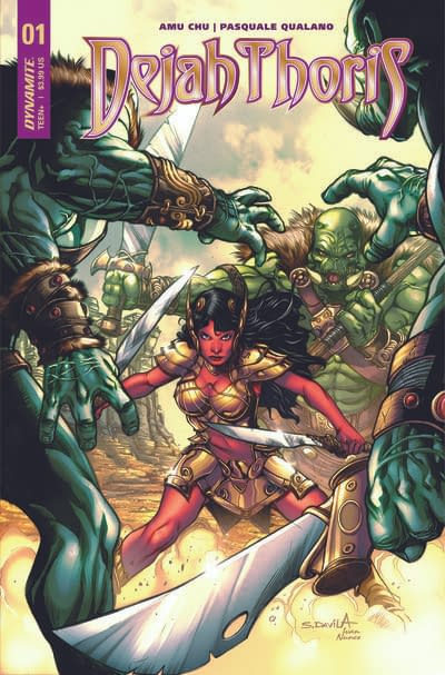 Amy Chu To Write New Dejah Thoris Series For Dynamite