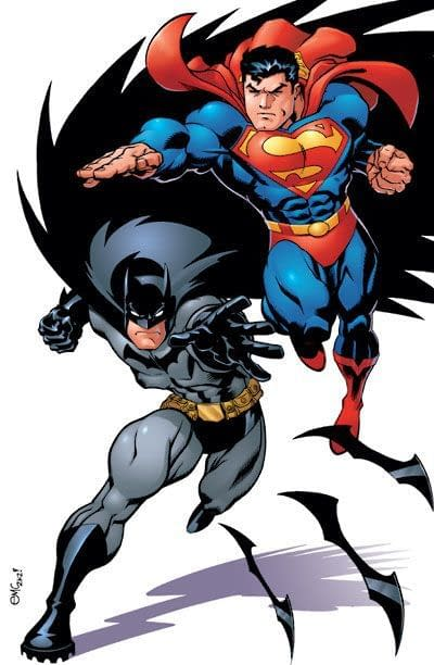 Superman and Batman by Ed McGuiness