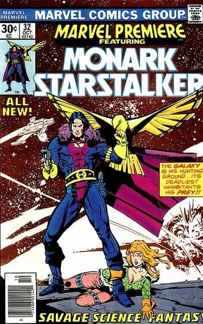 Howard Chaykin's Moment of Glory From Big Hero 6 With Monark Starstalker