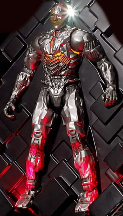 That SDCC Exclusive Cyborg Figure From Mattel: A Closer Look