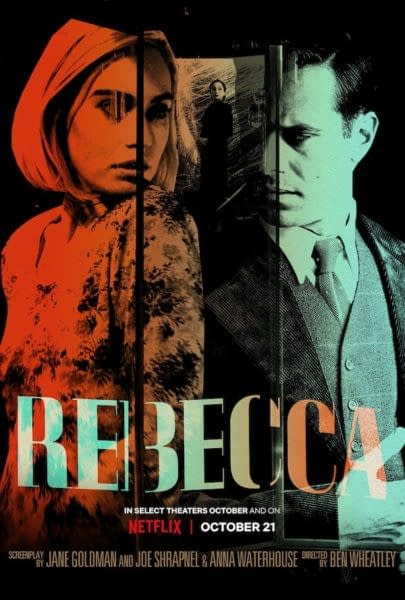 FOur New Posters For Netflix Rebecca Remake Debut