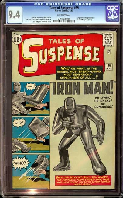 Assembling The Avengers: Marvel Records Continue To Fall As First Iron Man Goes For $147,500