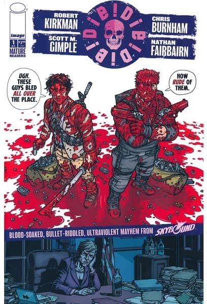 Image Surprise-Publishes New Robert Kirkman Comic Die!Die!Die! with Walking Dead Showrunner and Chris Burnham, in Comic Stores Tomorrow