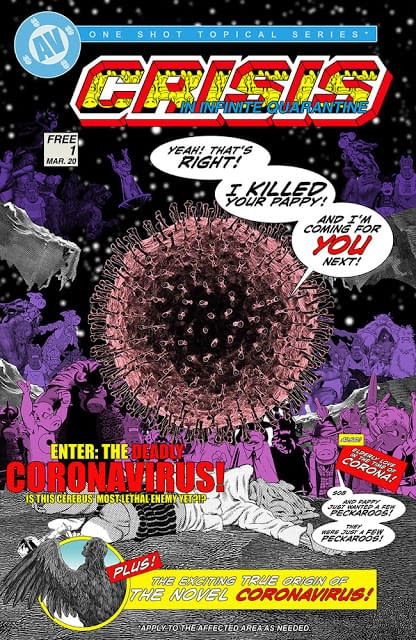 Crisis In Infinite Quarantine Cover