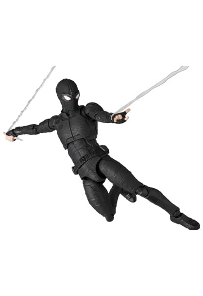 Spider-Man MAFEX Upgrades to the Stealth Suit