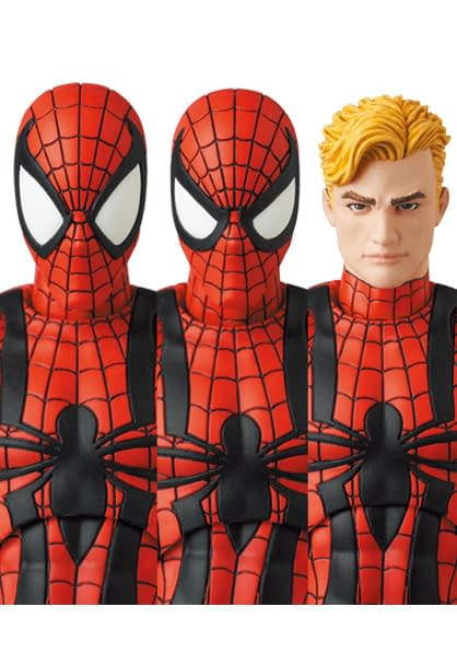 Ben Reilly Spider-Man Swing on in With New MAFEX Figure