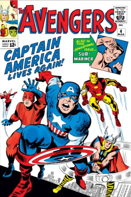Now Everything You Knew About the Avengers Finding Captain America in the Ice Was Wrong Too