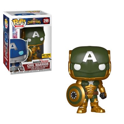Hydra Cap Gets His Own Funko In Hot Topic Exclusive Variant