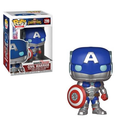 Contest Of Champions Gets Some Funky Funkos, Including Secret Empire Cap