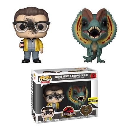 Jurassic Park Funko Pops Roar Into Our Lives… Including Sexy Jeff Goldblum
