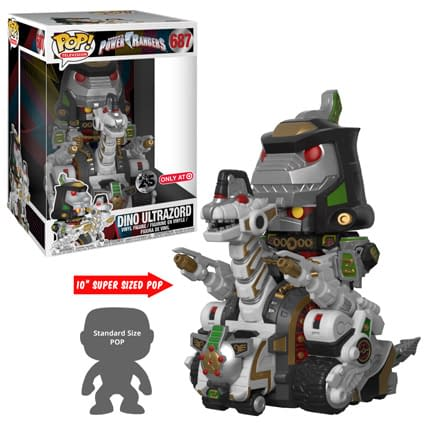 Funko Mighty Morphin Power Rangers Dino Ultrazord