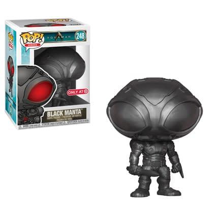 Funko Aquaman Black Manta All Balck Pop