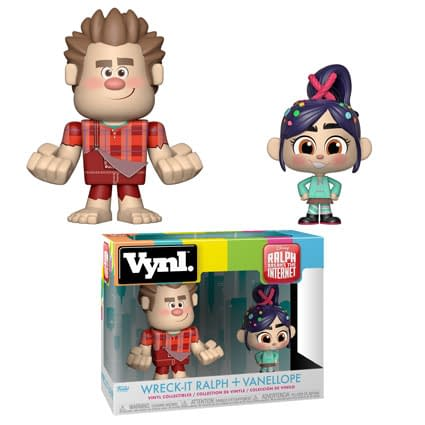Funko Disney Wreck It Ralph Vynl Set