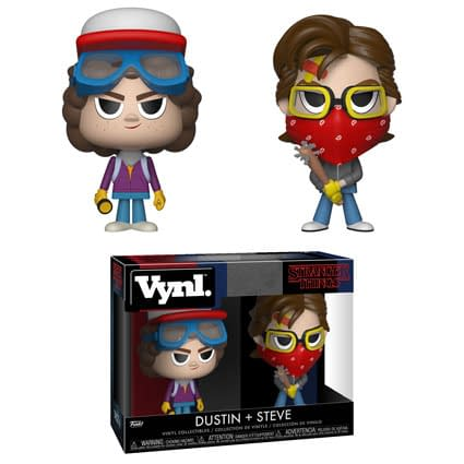 Funko Stranger Things Vynl Dustin snd Steve