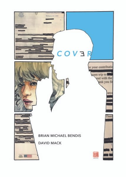 Brian Michael Bendis's 2 New DC Comics: 'Pearl' with Michael Gaydos and 'Cover' with David Mack