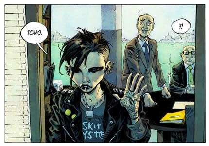 Preview Of DC Vertigo's The Girl With The Dragon Tattoo… And A Comparison With The Dupuis Version