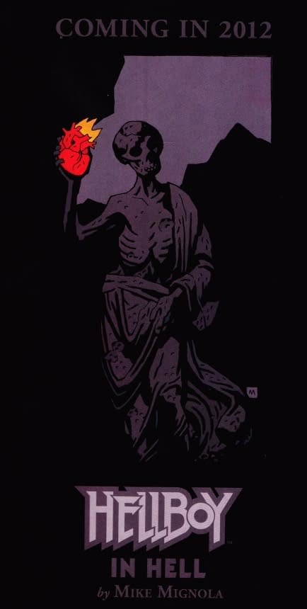 Hellboy In Hell Coming In 2012 From Mike Mignola