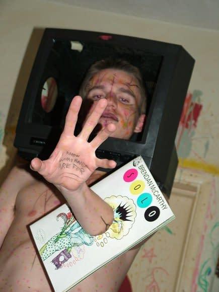 And Finally… A Brendan McCarthy Fan Photo
