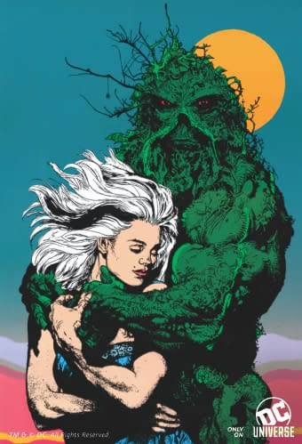 dc universe titans swamp thing shared