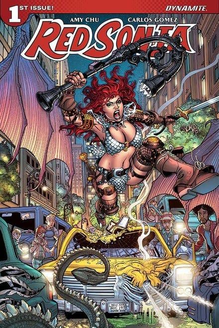 Dynamite Offers Red Sonja, Vampirella, And Chaos! Comics Barware