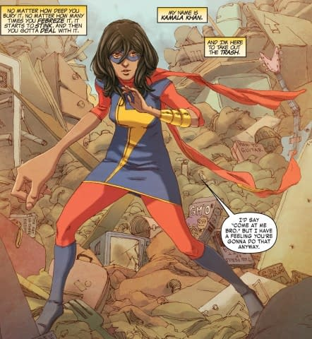 """Does Uncle Sam Have Ms. Marvel's """"Embiggen"""" Ability?"""