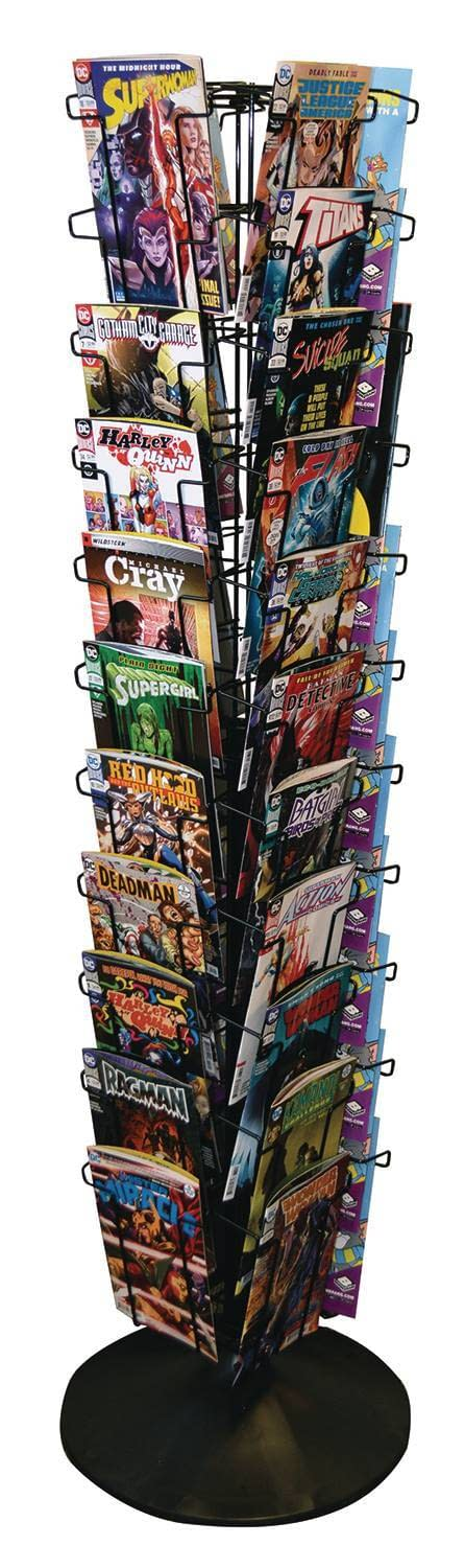Marvel, DC and Others Persuade Comic Stores to Put Spinner Racks in Other Businesses