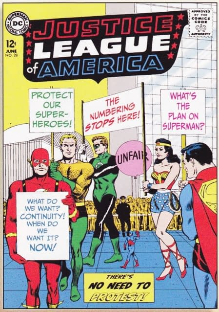 DC Comics On The New DCU 52 Protestors
