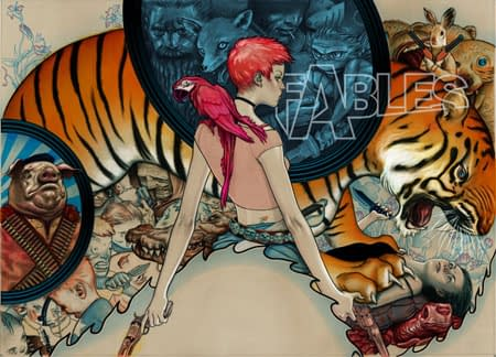 New Fables Book To Be Announced At San Diego