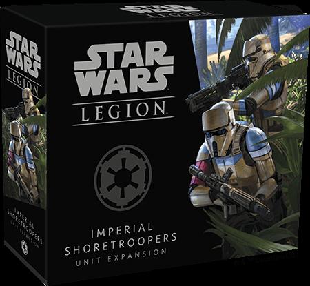 Fantasy Flight Games Announces Shore Troopers for Star Wars: Legion